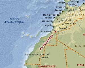 Carte du maroc plan ville maroc maps